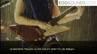 EDOSOUNDS - U2 Backing Tracks: ULTRA VIOLET - Eb 109bpm