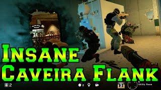 An Insane Caveira Flank - Rainbow Six Siege