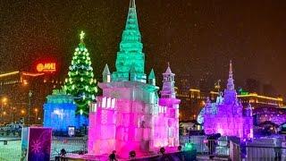 Поклонная гора в Москве на Новогодних праздниках 2017