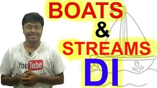 IBPS PO MAINS 2016( Night class Day #39) BOATS and STREAMS DI