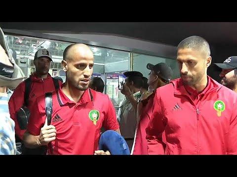 شاهد: المنتخب المغربي يصل إلى القاهرة للمشاركة في كأس الأمم الإفريقية…  - نشر قبل 2 ساعة