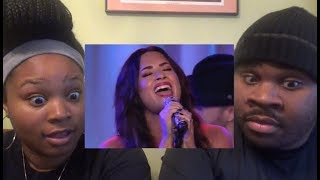 DEMI LOVATO - SORRY NOT SORRY (LIVE/ACOUSTIC) - REACTION