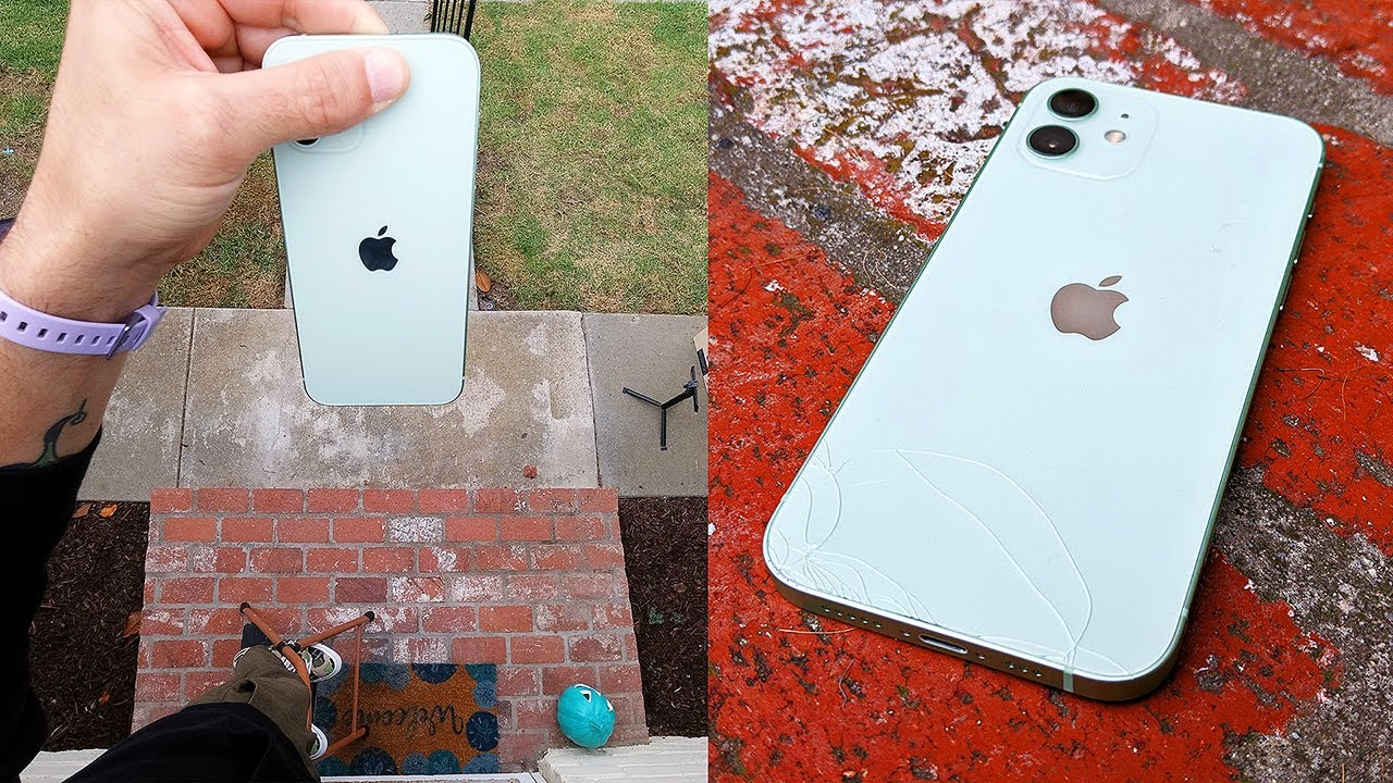 VIDEO: iPhone 12 drop test results are in: Ceramic shield is as tough as it sounds.