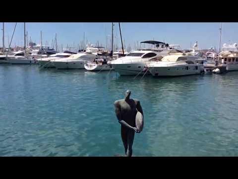 Marina Deportiva Del Puerto De Alicante, Spain #alicante #marina #port #spain