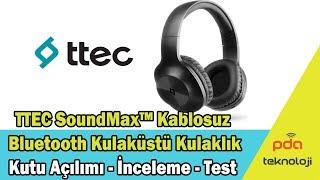 Ttec Soundmax Kulaküstü Kablosuz Bluetooth Kulaklık 2KM117B 2KM117S İnceleme