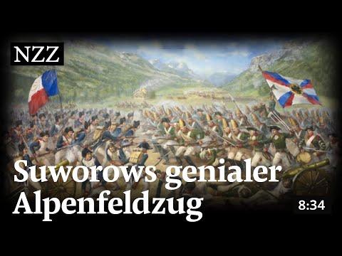 Mit 22'000 Russen durch die Schweizer Berge: Suworows genialer Alpenfeldzug