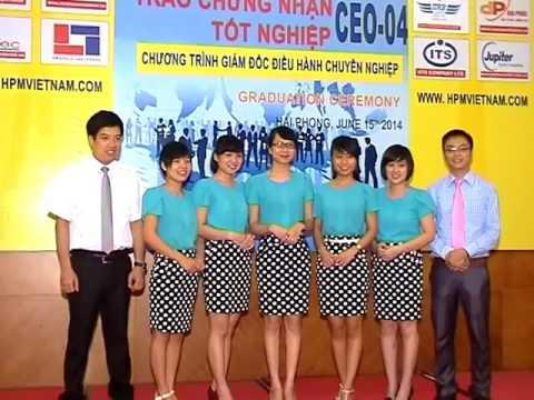 Lễ Tổng Kết Khóa Đào Tạo CEO HPM 04 tại Hải Phòng  – Hpm.edu.vn