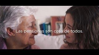 Las pensiones son cosa de todas y todos
