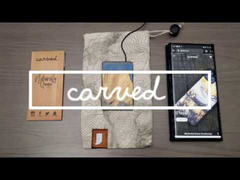 Carved - The thinnest, fastest, and most unique wireless charger (Made from real wood)!