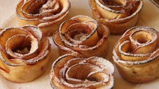 Apple Rose Pastry - Almali Qizilgul - Zet
