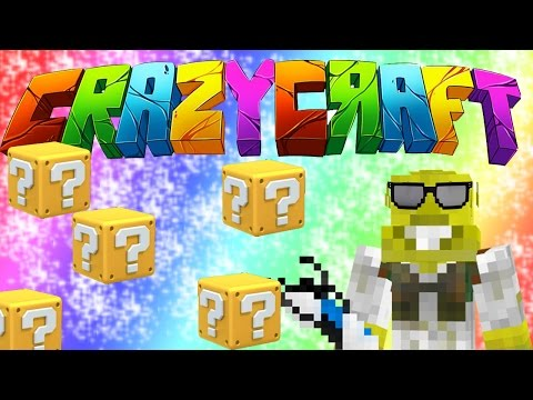 LOADS OF LUCKY BLOCKS! | CrazyCraft 3.0 Ep.8
