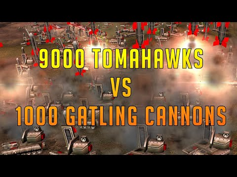 *TOMAHAWK SPAM* Defcon 6 Free For All - Command And Conquer Generals Zero Hour