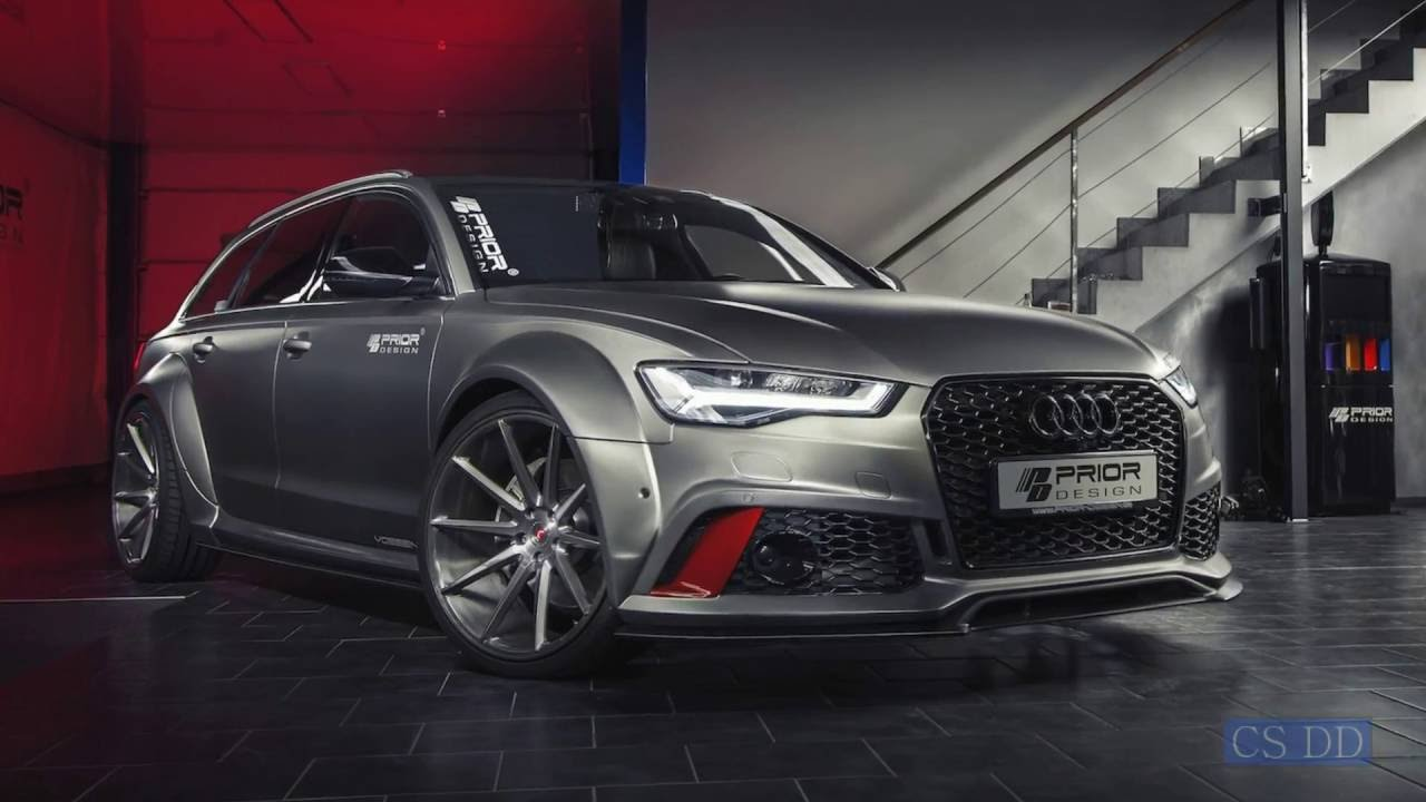 Prior Design Pd600r Audi A6 And Rs6 Widebody Kit Youtube