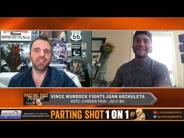 "KOTC's Vince Murdock ""I'm looking to put away Juan Archuleta"""