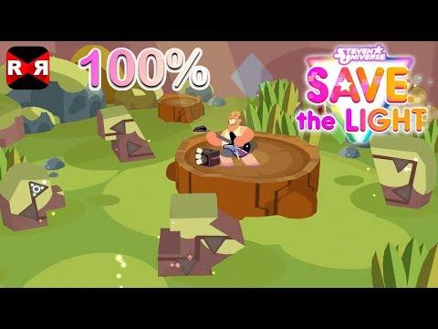 Steven Universe: Save the Light - Beach City Woods 100% Completion Walkthrough Gameplay