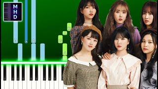 GFRIEND (여자친구) - Apple (Piano Tutorial Easy)
