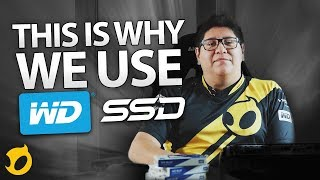 SSDs in the LoL House | WD Blue 3D NAND SSD Mp3