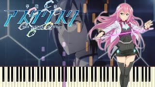 The Asterisk War - Gakusen Toshi Asterisk season 2 OP | Piano Cover | Synthesia | RekiFr