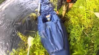 5 - я серия. Карелия. Сплав по  реке Кереть на  байдарках. 2015 год.  travels