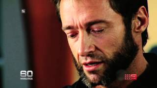 60 Minutes - Hugh Jackman, caught off guard, opening up like never before