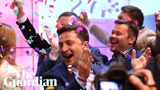 Ukraine election: Poroshenko concedes as exit polls show landslide victory for Zelenskiy