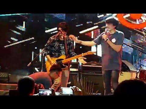 insiden,, Gitarnya Eross error,, Sheila on7 Pria Kesepian. Jakarta fair 2017