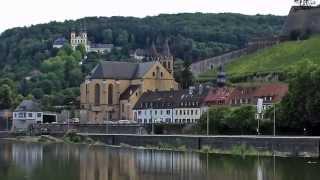 Germany - Würzburg Part 1: Alter Kranen - Alte Mainbrücke - Festung Marienberg