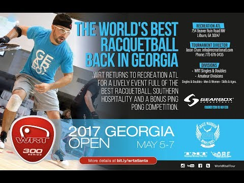 2017 WRT Georgia Open Semi Final Rodrigo Montoya vs. Jake Bredenbeck