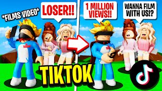 MEAN GIRLS Reject ME From TikTok Dance Group in Roblox BROOKHAVEN  rp!! (They REGRET It)