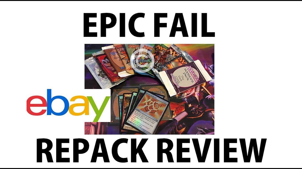 $9 95 MTG eBay Repack Vintage Booster Packs Foils