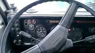 видео Камаз 5511 с Двигателем Ямз 238