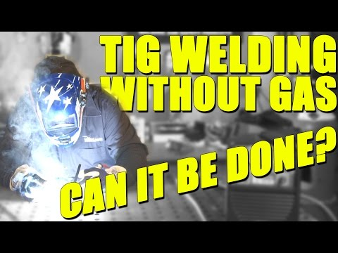 TIG Welding Carbon Steel w/ Flux Cored Wire and NO GAS