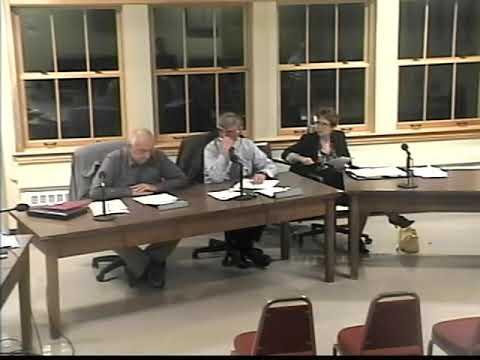 Southampton Select Board Meeting 04/16/13 Part 2