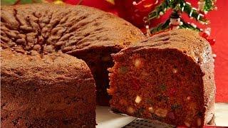 Christmas Fruit Cake | Easy 3 Step Recipe