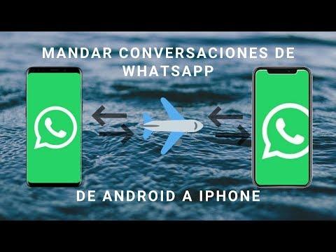 Como Pasar Tus Conversaciones De Whatsapp De Android A IPhone!!!!