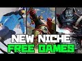 TOP TEN NEW NICHE FREE GAMES