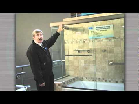 CRL Cottage Series Frameless Sliding Shower Door System
