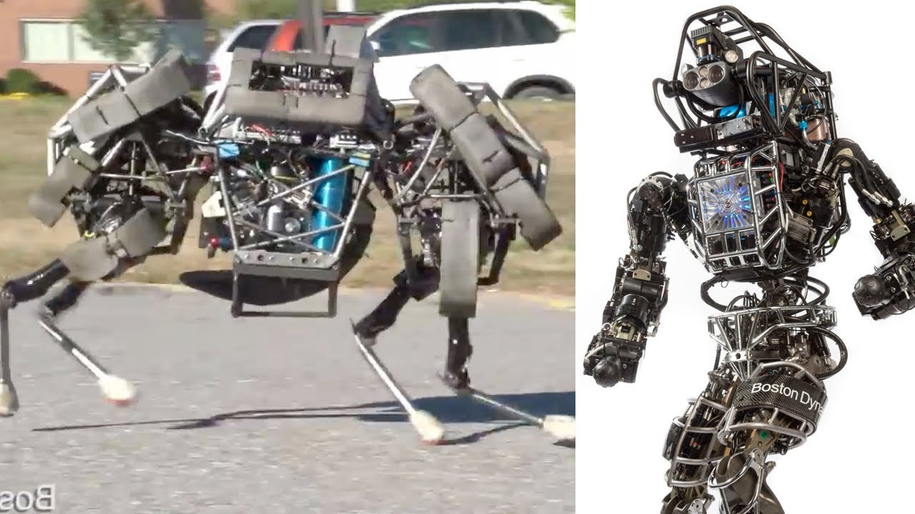 Google Buys Scary Military Robot Maker Youtube