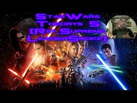 Star Wars Theory 5 (Rey,Supreme Leader Snoke)
