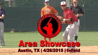 Scout Baseball Area Showcase - 4/26/15 - Infield Workout