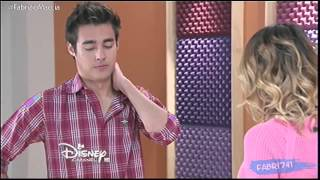 Violetta 3 - Violetta canta Descubri y habla con León (Ep 58)