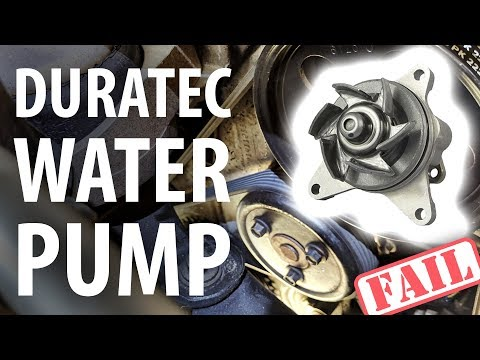 How to (fail): (Nearly) replace water pump, Ford Duratec HE (Mondeo Mk 3)