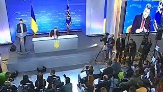 """Петро Порошенко поспілкувався з журналістами (прес-конференція """"Стратегія-2020"""")"""