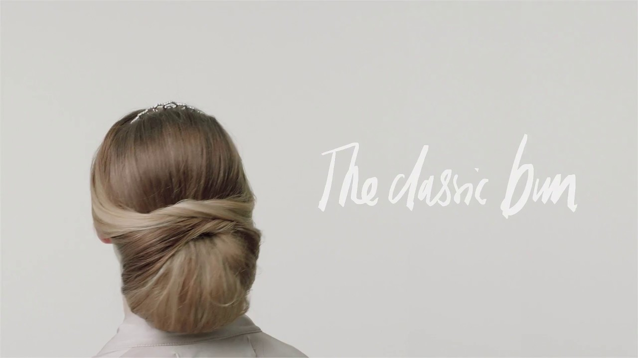 The Classic Bun Hair Tutorial by Glitter - YouTube