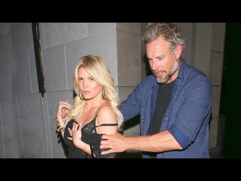 Jessica Simpson Needs Help From Hubby Eric Johnson After Partying In Hollywood