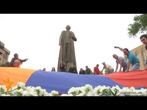 Երևանում բացվեց Գարեգին Նժդեհի արձանը