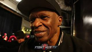 MAYWEATHER SR WANTS REMATCH ON SPARRING