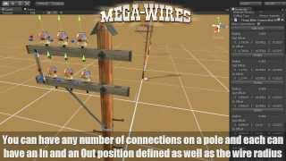 MegaWires for Unity - Add dynamic wires to your scenes