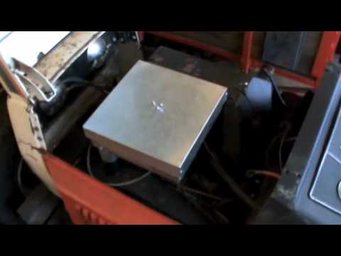 Briggs and Stratton 16HP Twin Homemade Air Cleaner
