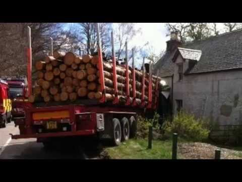 Drivers cut from lorries in Balnain and Halkirk crashes - Latest News - 01-05-2015